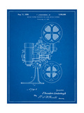 Movie Projector 1933 Patent Posters by Cole Borders