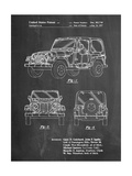 Jeep Wrangler 1997 Patent Prints by Cole Borders