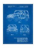 Jeep Wrangler 1997 Patent Posters by Cole Borders