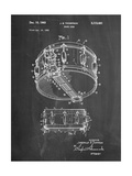 Rogers Snare Drum Patent Print by Cole Borders