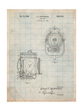 Vintage Movie Set Light Patent Prints by Cole Borders