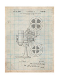 Movie Projector 1933 Patent Prints by Cole Borders
