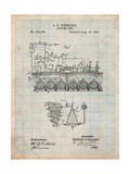 Beer Brewing Science 1893 Patent Prints by Cole Borders