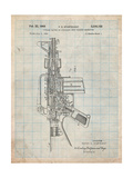 M-16 Rifle Patent Prints by Cole Borders