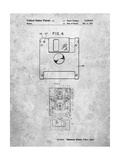 3 1/2 Inch Floppy Disk Patent Print by Cole Borders