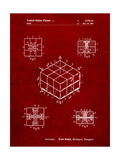 Rubik's Cube Patent Prints by Cole Borders