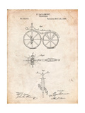 First Bicycle Patent Posters by Cole Borders