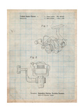 Open Face Spinning Fishing Reel Patent Posters by Cole Borders