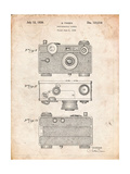 Fassin Photographic Camera Patent Poster by Cole Borders