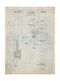 Boat Propeller 1964 Patent Prints by Cole Borders