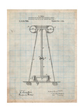 Tesla Energy Transmitter Patent Posters by Cole Borders
