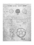 Soccer Ball Patent, How To Make Poster by Cole Borders