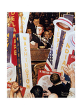 A Time for Greatness Giclee Print by Norman Rockwell