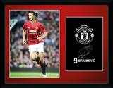 Manchester United - Ibrahimovic 16/17 Wydruk kolekcjonerski