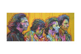 Beatles Pano Giclee Print by Dean Russo