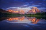 Morans Cloudcap Reproduction photographique par  Darren White Photography