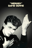 David Bowie- Heroes Album Cover - Reprodüksiyon