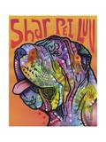 Shar Pei Love Giclee Print by Dean Russo