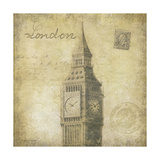 London Giclee Print by Stephanie Marrott