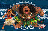 Moana- Game Face Prints