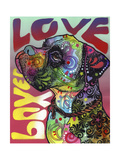 Boxer Luv Giclee Print by Dean Russo