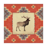 Elk Blanket Giclee Print by Stephanie Marrott