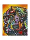 Brilliant Dachshund Giclee Print by Dean Russo