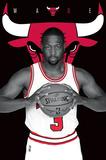 NBA: Chicago Bulls- Dwayne Wade 2016 Posters