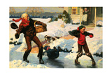 Good for Young and Old Giclee Print by Norman Rockwell
