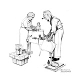 Christmas Giclee Print by Norman Rockwell
