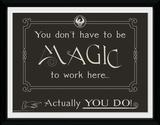 Fantastic Beasts - Magic Wydruk kolekcjonerski