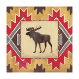 Moose Blanket Giclee Print by Stephanie Marrott