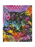 Gatos Lámina giclée por Dean Russo