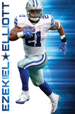 NFL: Dallas Cowboys- Ezekiel Elliott 2016 Print