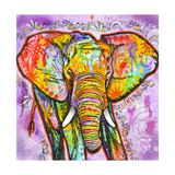 Elephant Giclee Print by Dean Russo