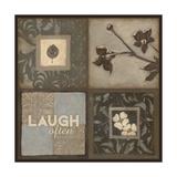 Reír a  menudo Lámina giclée por Stephanie Marrott