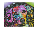 Scent Hound Giclee Print by Dean Russo