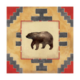 Bear Blanket Giclee Print by Stephanie Marrott