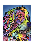 Mountain Dog Giclée-trykk av Dean Russo