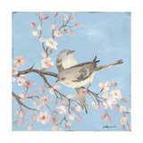 Blossoms Birds II Giclee Print by Stephanie Marrott