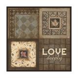 Love Deeply Lámina giclée por Stephanie Marrott