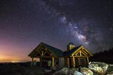 Mount Evans Visitor Cabin Reproduction photographique par  Darren White Photography