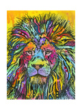 Lion Good Giclee Print by Dean Russo