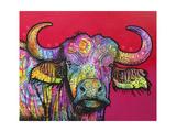 Wildebeest Giclee Print by Dean Russo