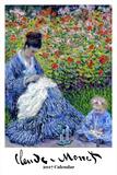 Claude Monet - 2017 Calendar Calendars