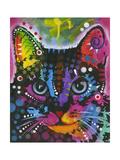 Cat Giclée-trykk av Dean Russo