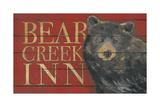 Bear Creek Giclée-tryk af Stephanie Marrott