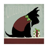 Scottie Cheerful Giver Giclee Print by Stephanie Marrott