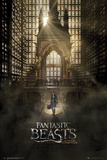 Fantastic Beasts- Grand Arrival One Sheet Lámina