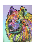 Samoyed Giclee Print by Dean Russo